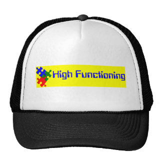 High Functioning Autistic Trucker Hat