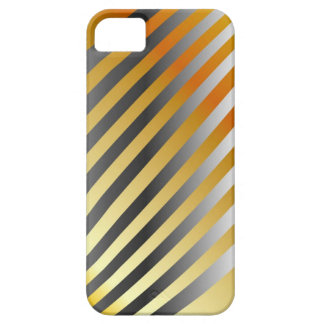 High grade gold metal waves iPhone SE/5/5s case