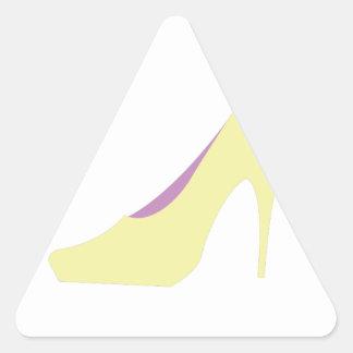 High Heals Triangle Sticker