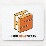 High Heat Stats Mousepad