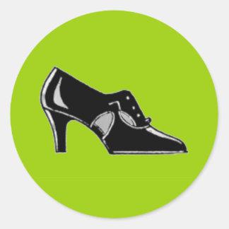 High Heel Classic Round Sticker