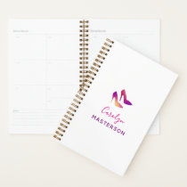 High Heel Fashionista Stylist Blogger Sparkly Glam Planner