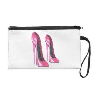 High heel Pink Stiletto Shoes Art Bagettes Bag