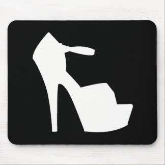 HIGH HEEL - PUMP IT UP BACK IN BLACK MOUSE PAD