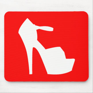 HIGH HEEL - PUMP IT UP CHERRY RED MOUSE PAD