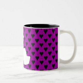 HIGH HEEL - PUMP IT UP HEIRESS Two-Tone COFFEE MUG