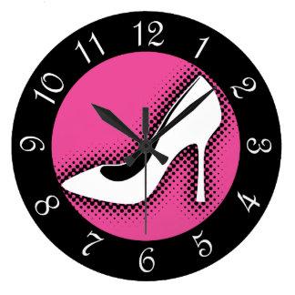 High Heel Pump Large Clock