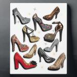 "High Heel Shoe Collage Sparkle Fashion Pumps Plaque<br><div class=""desc"">High Heel Shoe Collage Sparkle Fashion Pumps</div>"