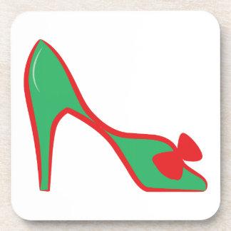 High Heel Shoe Beverage Coaster