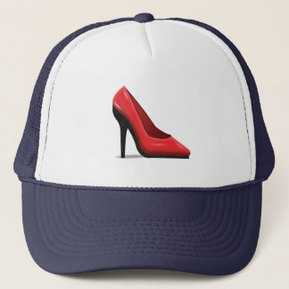 HIgh Heel Shoe - Emoji Trucker Hat