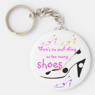 High Heel Shoes Diva Keychain