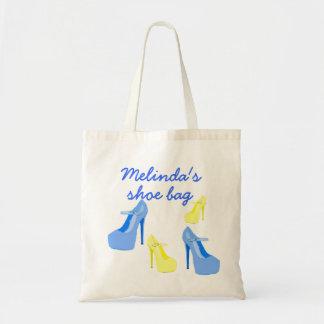 High Heel Shoes protective shoe bag Canvas Bag
