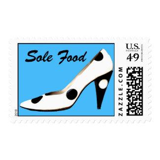 High Heel Sole Food Pun Shoe Stamps