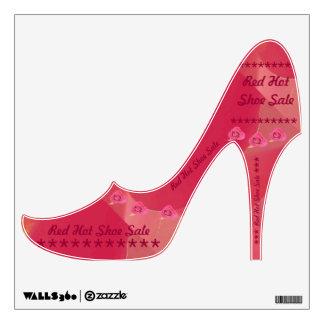 High heel Wall Decal