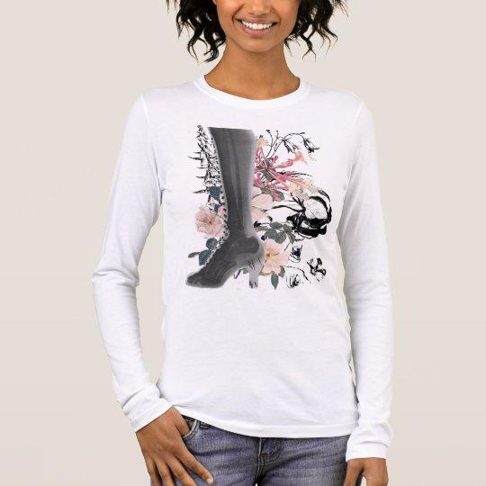 High Heel X-Ray Long Sleeve Long Sleeve T-Shirt