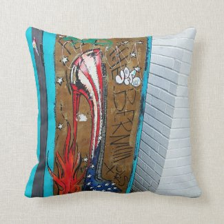High Heeled American Pillow