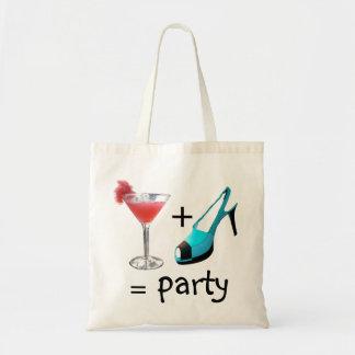 High Heels and Cocktails Bag