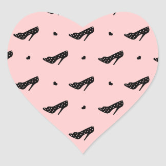 High Heels and Hearts Stickers