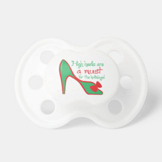 High heels are a must for the holidays! baby pacifiers
