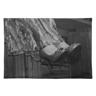 High Heels Cloth Placemat