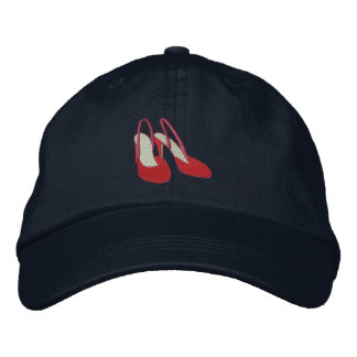 High Heels Embroidered Hats