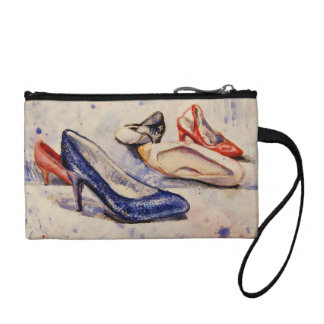 """High Heels"" Key Coin Clutch"