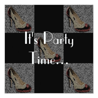 High Heels Party Invitation