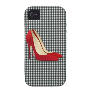 high heels red vibe iPhone 4 cover