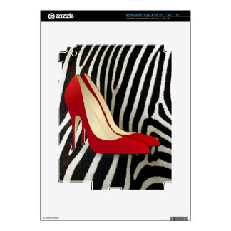 high heels red iPad 3 skin