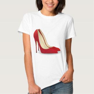 high heels red T-Shirt