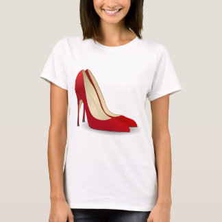 high heels red T-Shirt