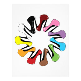 High_Heels_Shoe_of_Every_Color COLORFUL COLLECTION Flyer