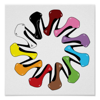 High_Heels_Shoe_of_Every_Color COLORFUL COLLECTION Poster