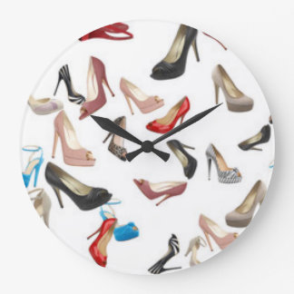 High Heels ShoesIt doesn't get much girlier than t Large Clock