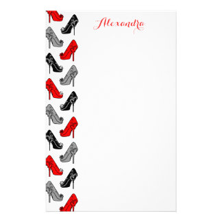 High Heels Stationery