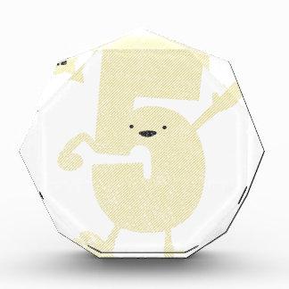 high (hi!) five acrylic award