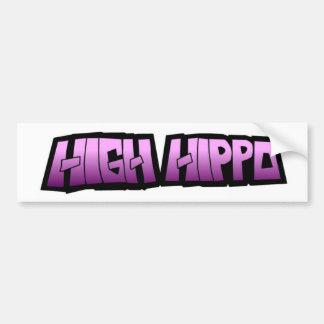 High Hippo logo Bumper Sticker