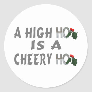 High Ho Classic Round Sticker