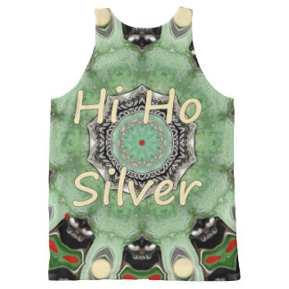 High Ho Silver. All-Over-Print Tank Top