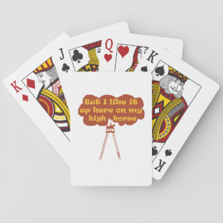 High Horse Playing Cards