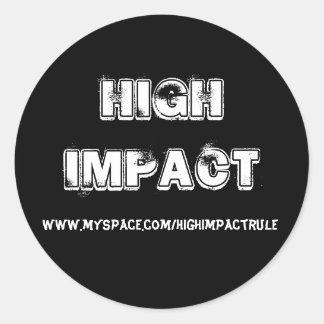High Impact Sticker 2