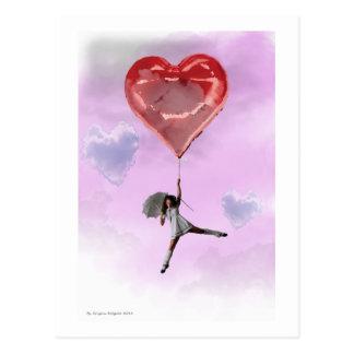 High in Love Postcard