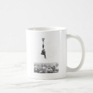 High In The Air Vintage Photo Coffee Mug