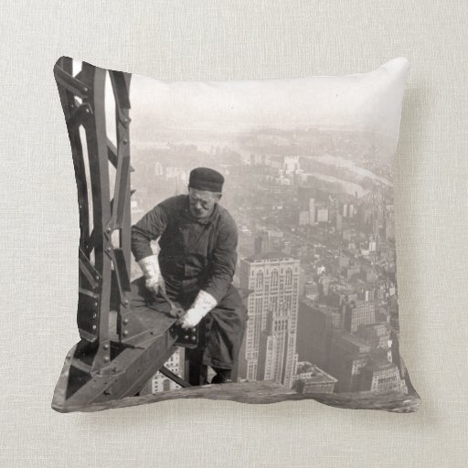 High In The Sky Throw Pillows