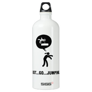 High Jump Aluminum Water Bottle