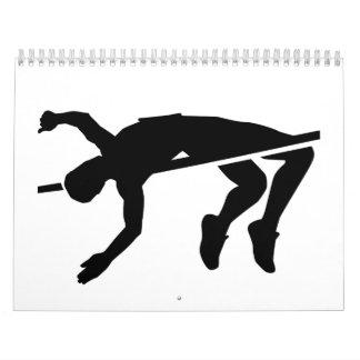 High jump calendar
