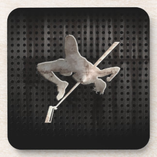 High Jump; Cool Beverage Coaster