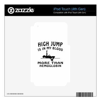 High Jump Design Skin For iPod Touch 4G