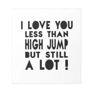 High Jump Designs Memo Notepad