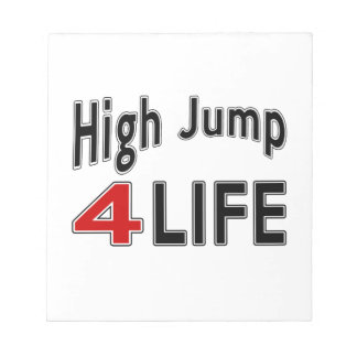 High Jump For Life Note Pad